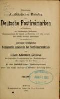 Cover of Illustrierter ausführlicher katalog über deutsche postfreimarken