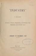 """Cover of """"Industry"""""""