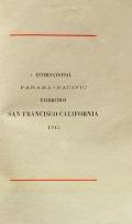 "Cover of ""International Panama-Pacific Exhibition, San Francisco, California, 1915"""