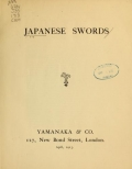 Cover of Japanese swords