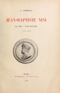 Cover of Jean-Baptiste Nini, sa vie--son œuvre, 1717-1786
