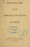 Cover of Joslin's terrestrial and celestial globes