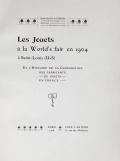 Cover of Les jouets al la World's fair en 1904 al Saint-Louis (U-S)