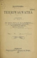 "Cover of ""Kaiatonsera teieriwakwatha onkweonweneha"""