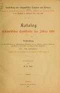 """Cover of """"Katalog frühchristlicher Textilfunde des Jahres 1886"""""""