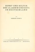 Kunst und Kultur des 18. Jahrhunderts in Deutschland, von Hermann Schmitz