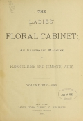 Cover of The ladies' floral cabinet