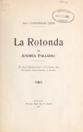 Cover of La Rotonda di Andrea Palladio