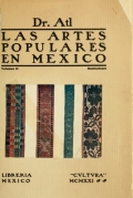 Cover of Las artes populares en Mexico