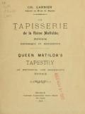 Cover of La tapisserie de la reine Mathilde