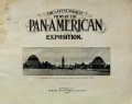 Cover of The latest and best views of the Pan-American exposition
