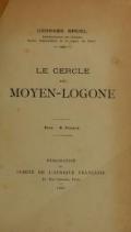 Cover of Le cercle du Moyen-Logone