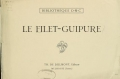 Cover of Le filet-guipure