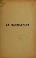 Cover of Le Haute-Volta