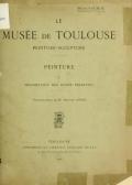 """Cover of """"Le Musée de Toulouse"""""""