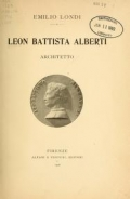 Cover of Leon Battista Alberti, architetto