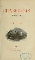 Cover of Les chasseurs d'ivoire