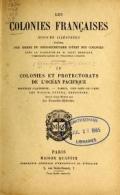 Cover of Les colonies françaises