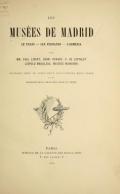 Cover of Les Musées de Madrid