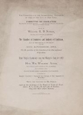 """Cover of """"Letter of W.E.D. Stokes ... on the question of the location of the International Exposition"""""""