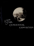 Cover of Lewis and Clark Centennial Exposition