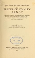 Cover of The life & explorations of Frederick Stanley Arnot