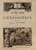 Cover of Livre d'or de l'Exposition