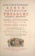 Cover of Locupletissimi rerum naturalium thesauri accurata descriptio, et iconibus artificiosissimis expressio, per universam physices historiam t. 1
