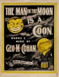"""Cover of """"The man in the moon is a coon"""""""