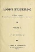 Cover of Marine engineering