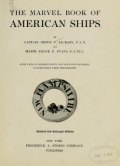 Cover of The marvel book of American ships