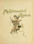 Cover of Matrimonial advice