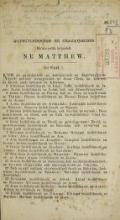 Cover of Matthew, Mark, Luke in the Seneca language