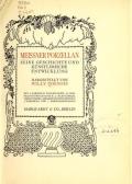 Cover of Meissner porzellan