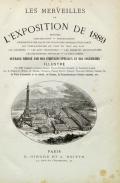 Cover of Les merveilles de L'exposition de 1889