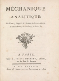 Cover of Mel£hanique analitique