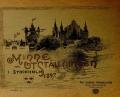 Cover of Minne fralˮ utstalllningen i Stockholm, 1897