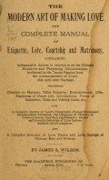 Cover of The modern art of making love