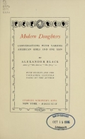 Cover of Modern daughters
