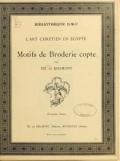 Cover of Motifs de broderie copte
