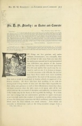 """Cover of """"Mr. H.M. Stanley : as leader and comrade"""""""