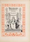 Cover of Muster altitalienischer Leinenstickrei