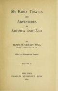 """Cover of """"My early travels and adventures in America and Asia v.2"""""""