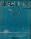 """Cover of """"My skylark love"""""""