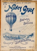 """Cover of """"Nancy Gray, or, Baldwin's balloon"""""""