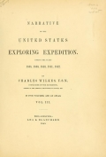 Cover of Narrative of the United States Exploring Expedition