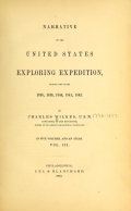 Cover of Narrative of the United States exploring expedition during the years 1838, 1839, 1840, 1841, 1842