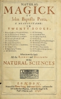 Cover of Natural magick