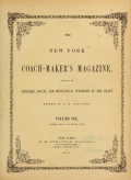 "Cover of ""The New York coach-maker's magazine"""