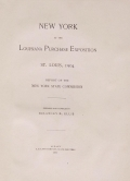 Cover of New York at the Louisiana purchase exposition, St. Louis, 1904